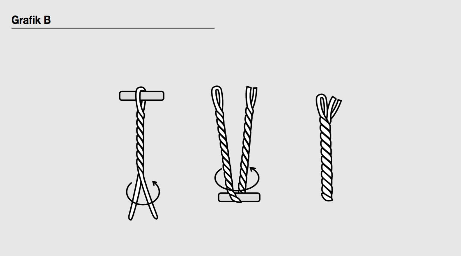 Strickjacke mit Kordelverschluss