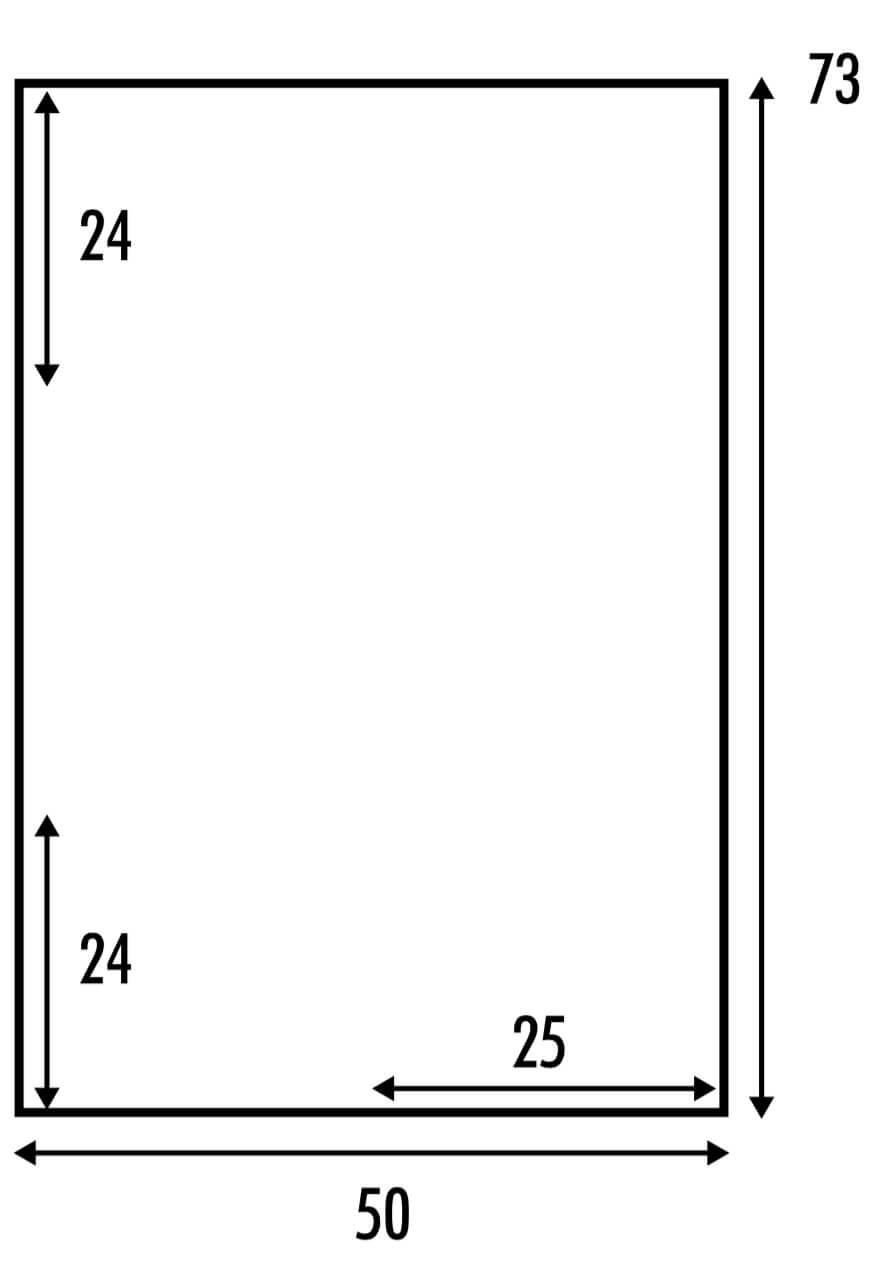 Zweifarbiger Strick-Poncho in one-size