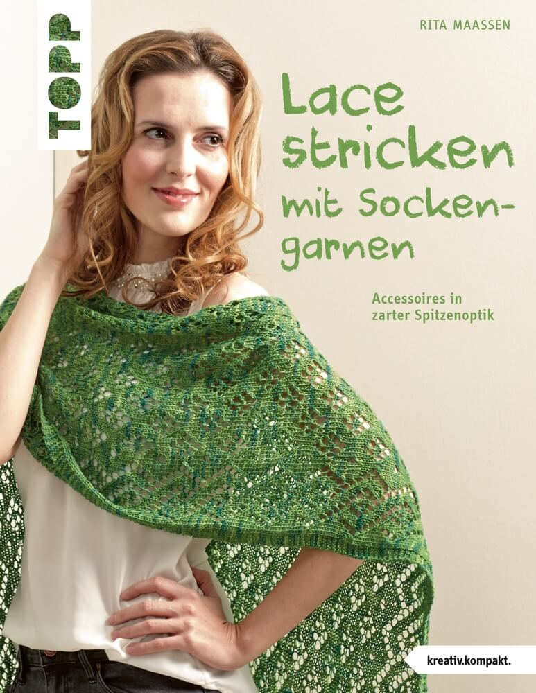 Lacemuster-Kissen mit Tweed-Optik