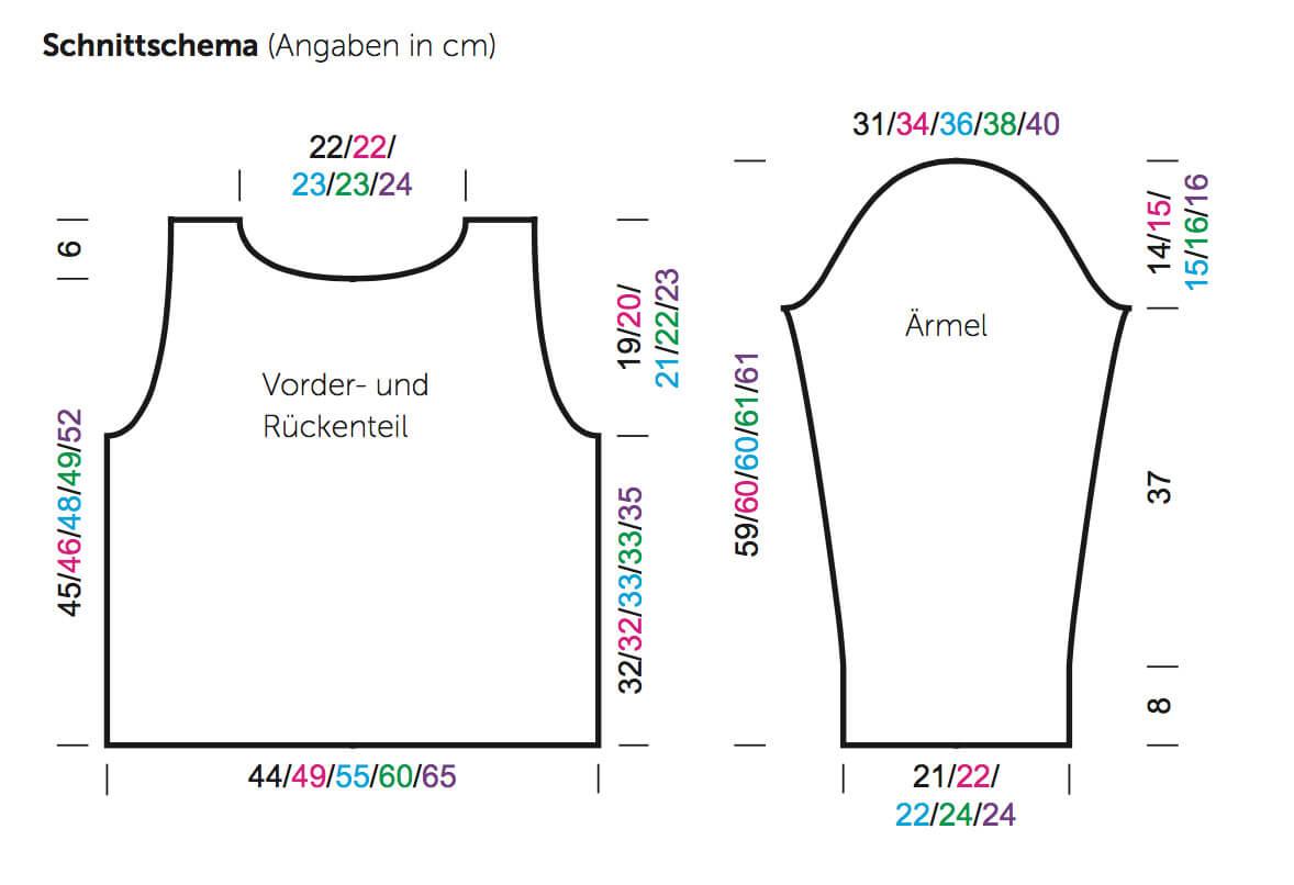 Strick-Pullover im Rhombenmuster