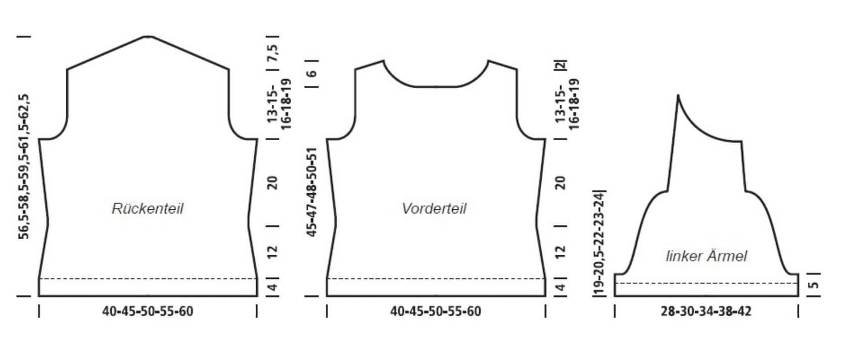 Schlichter Damen-Kurzarm-Pullover