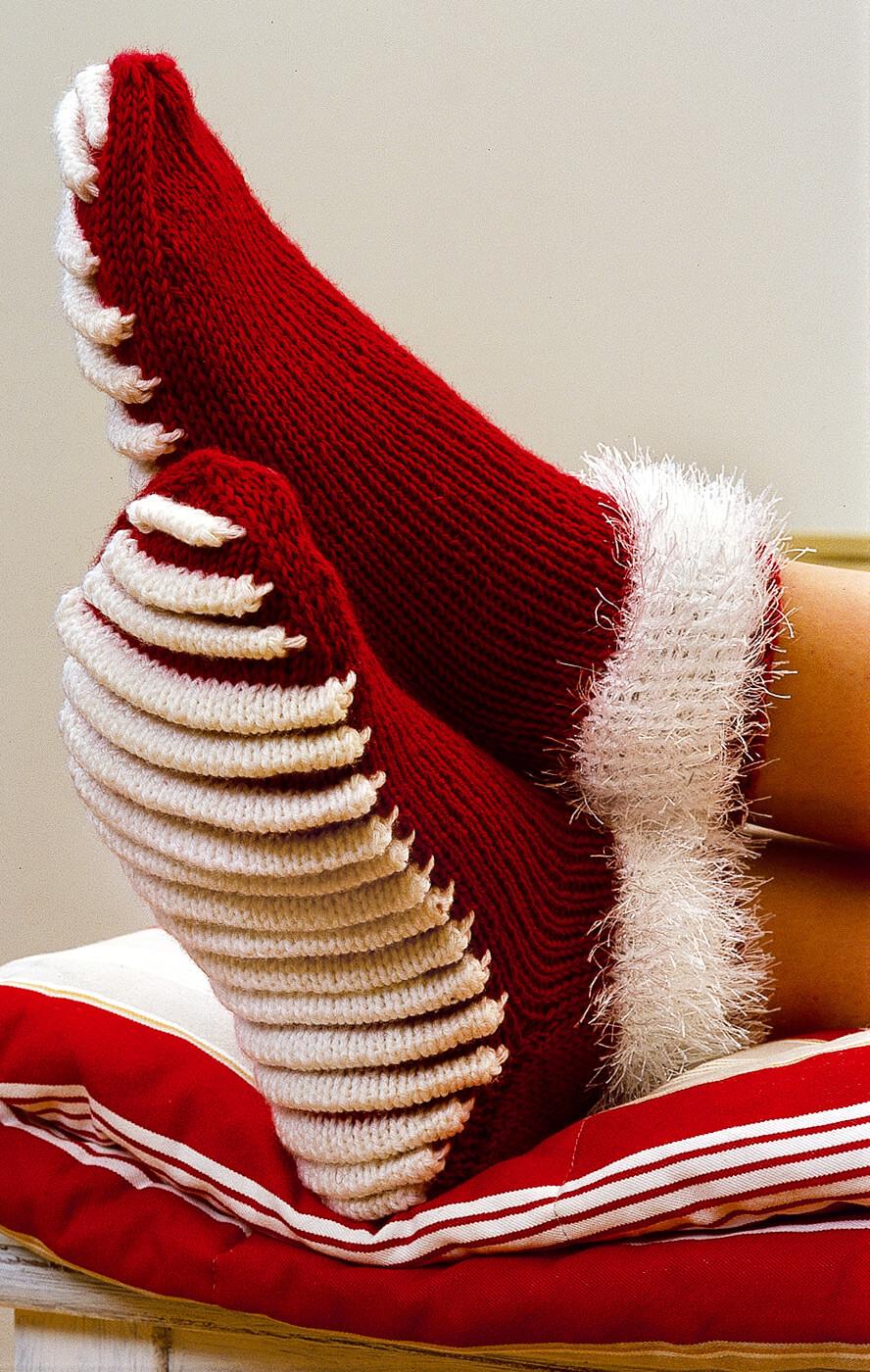 Socken mit Massagesohle