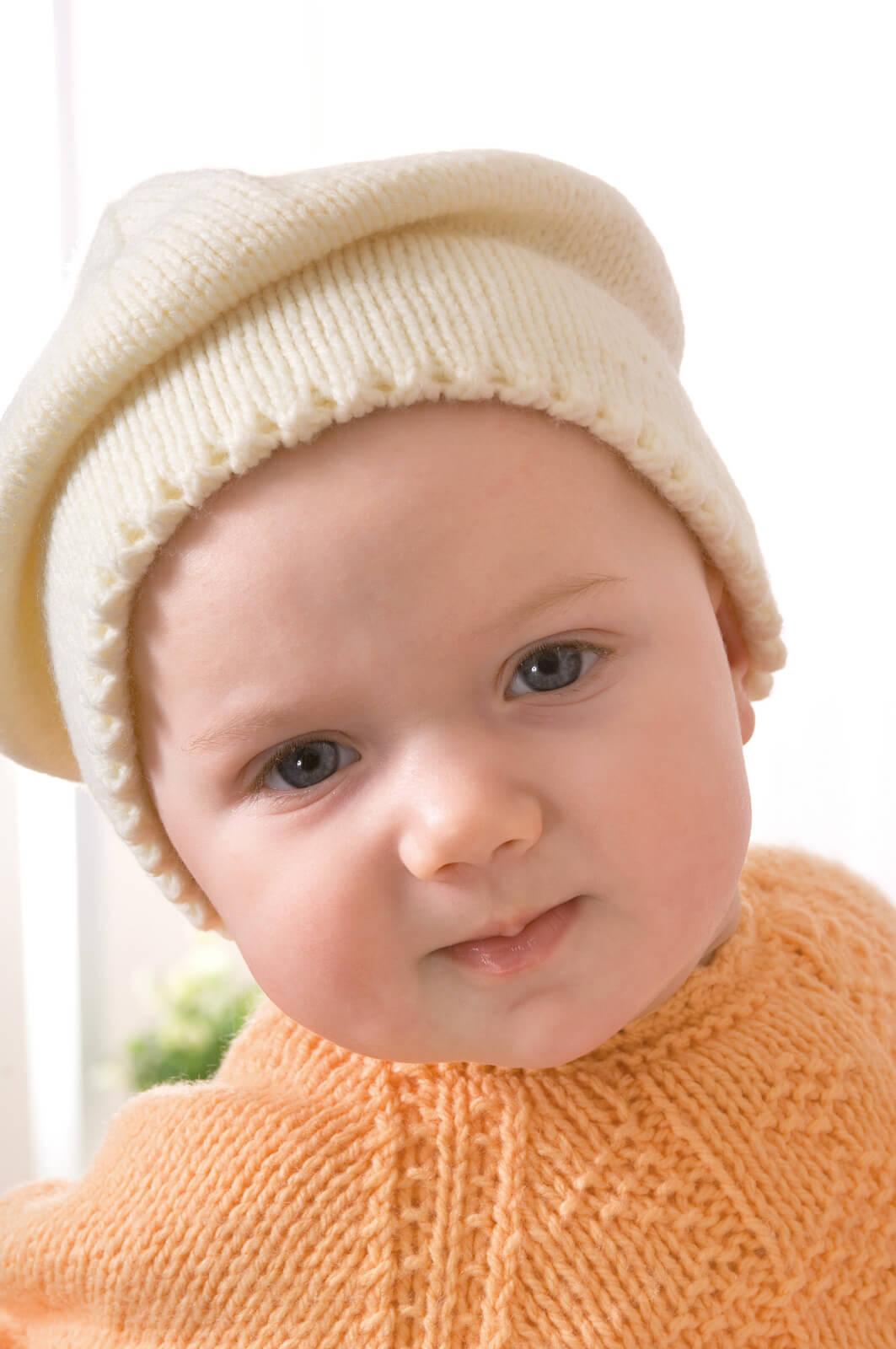 Baskenmütze für Babys