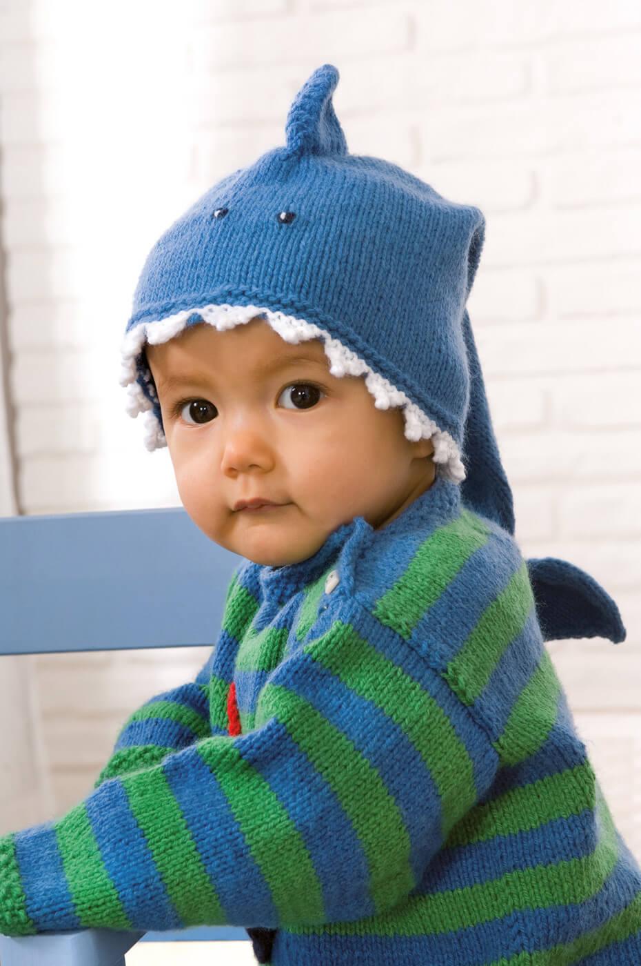 Haifisch-Mütze