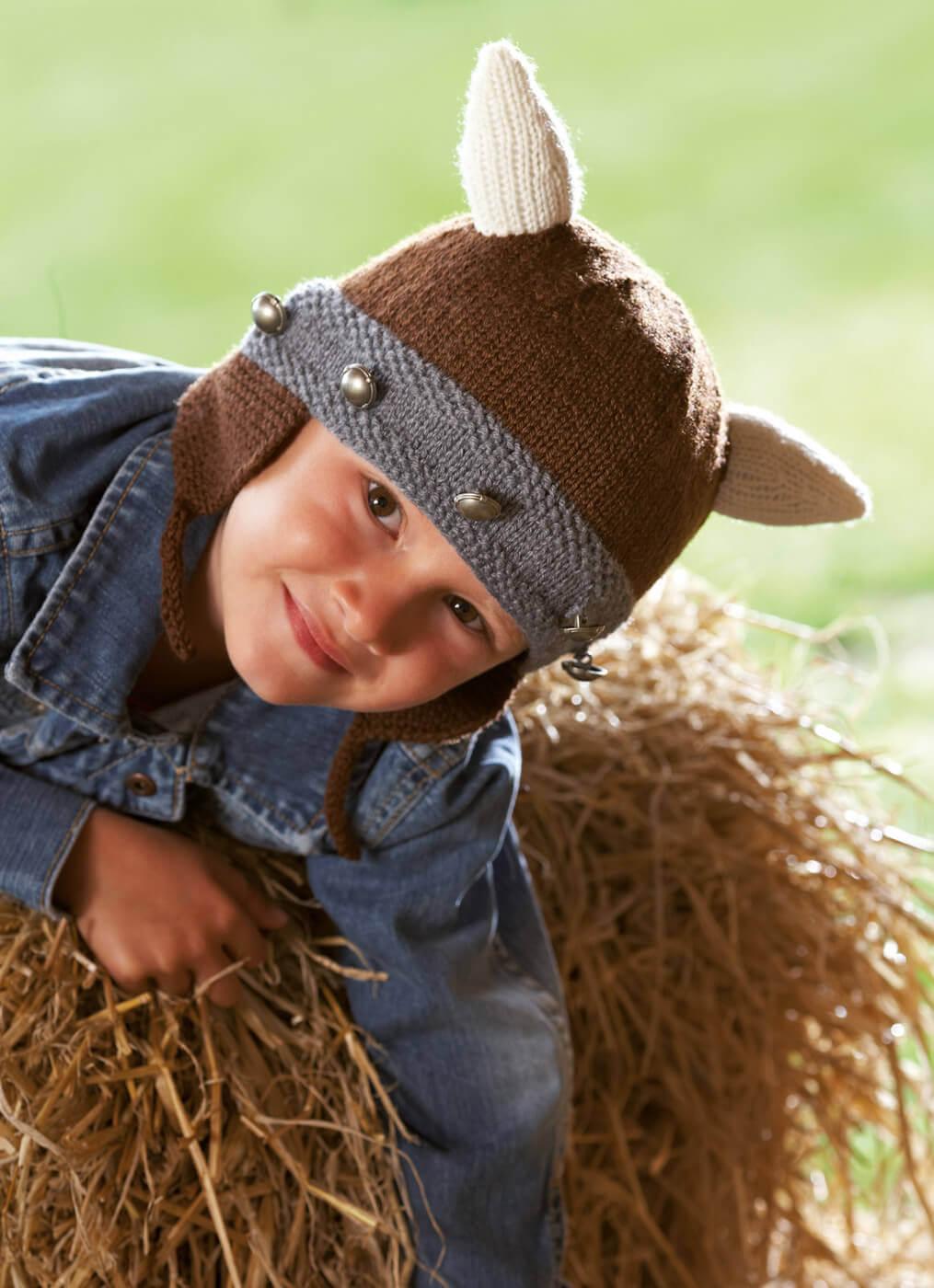 Wikinger-Mütze für Kinder