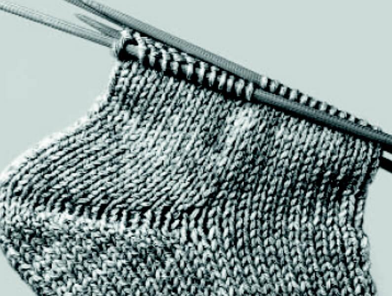 Technik des Sockenstrickens